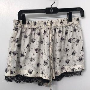 Zara Silk Comfortable Shorts